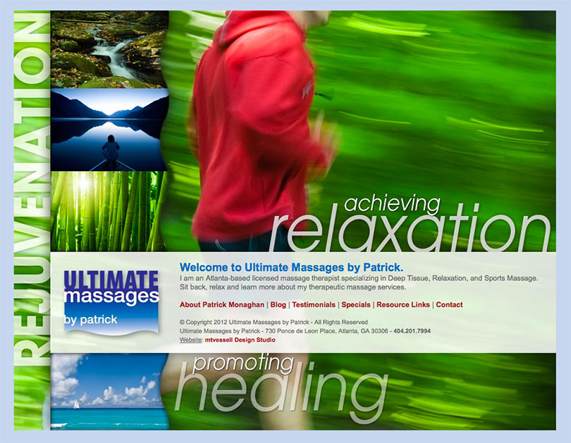 Ultimate Massages Website